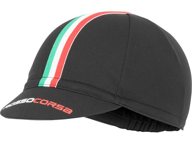 Castelli Rosso Corsa Gorra de ciclismo, black